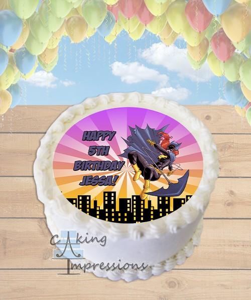 Inch Superhero Edible Cake Images