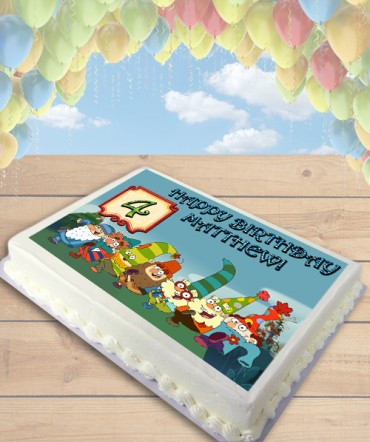 7D Dwarves Edible Frosting Image Cake Topper [SHEET]