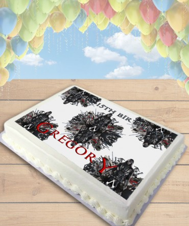 Assassin's Creed Movie Edible Frosting Image Cake Topper [SHEET]