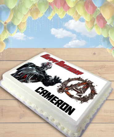Age of Ultron Edible Frosting Image Cake Topper [SHEET]