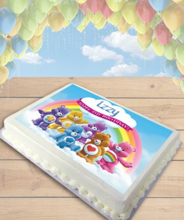 Care Bears Edible Frosting Image Cake Topper [SHEET]