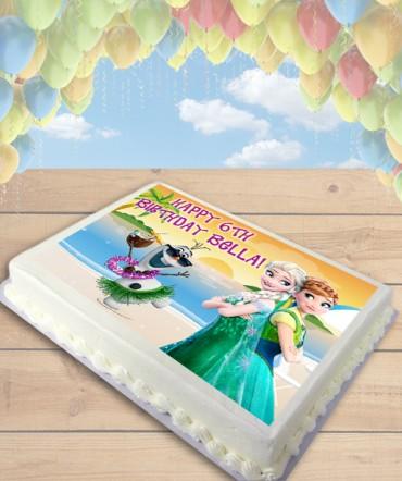 Olaf Summer Cake Topper