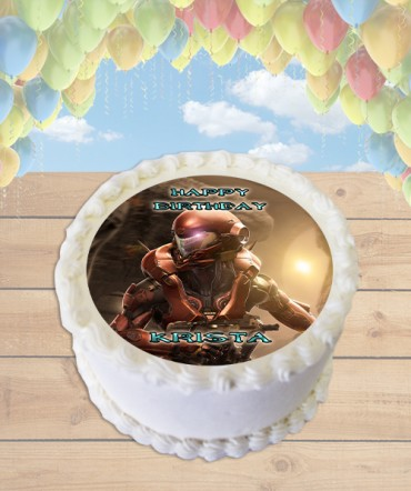 Edible Cake Images Halo : Halo 5 Edible Image Sheet Cake Topper