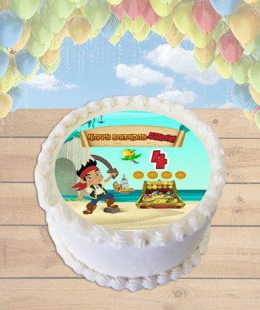 Jake and the Neverland Pirates Edible Image Sheet Cake Topper
