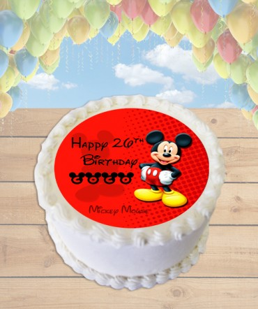Mickey Mouse Clubhouse Edible Image Sheet Cake Topper