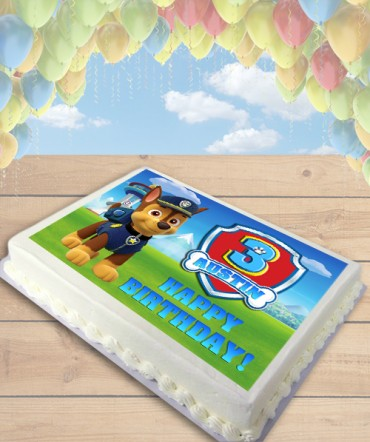 Paw Patrol CHOOSE DOG Edible Frosting Image Cake Topper [SHEET]