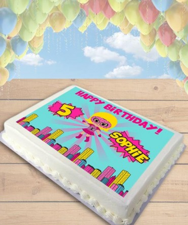 Spidergirl Clipart Edible Frosting Image Cake Topper [SHEET]