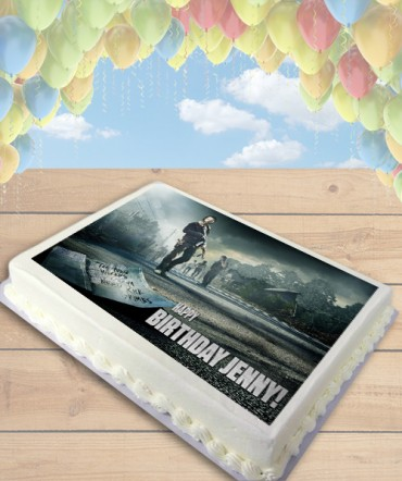The Walking Dead Edible Frosting Image Cake Topper [SHEET]