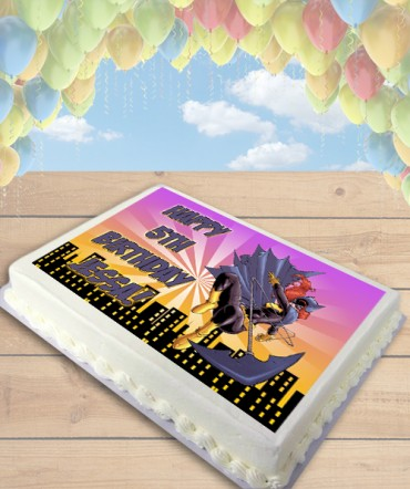 Batgirl Edible Frosting Image Cake Topper [SHEET]
