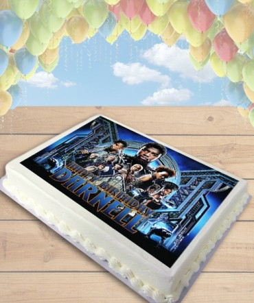 Black Panther Movie Edible Frosting Image Cake Topper [SHEET]