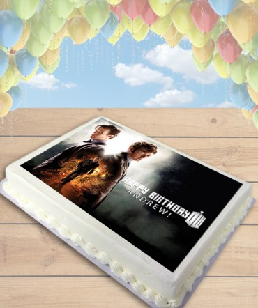 Doctor Who Edible Frosting Image Cake Topper [SHEET]