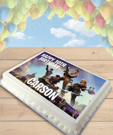 Fortnite Video Game Edible Frosting Image Cake Topper [SHEET]