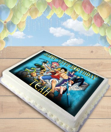 One Piece Anime Edible Frosting Image Cake Topper [SHEET]
