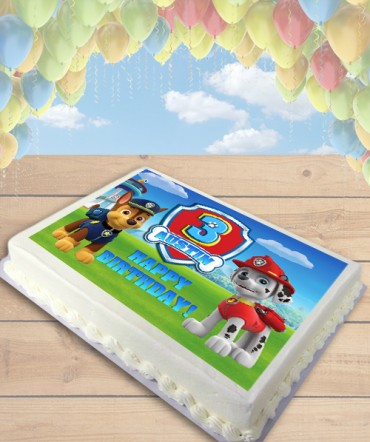 Paw Patrol CHOOSE DOGS Edible Frosting Image Cake Topper [SHEET]