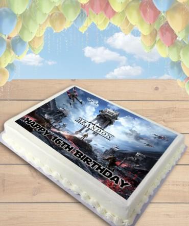 STAR WARS Battlefront Edible Frosting Image Cake Topper [SHEET]