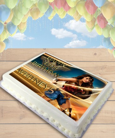Wonder Woman 2017 Movie Lasso Edible Frosting Image Cake Topper [SHEET]