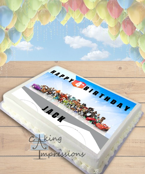 Edible Cake Decorations Sheets : Disney Infinity Edible Image Sheet Cake Topper
