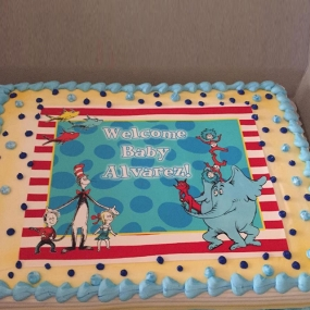 Dr. Seuss - Baby Shower
