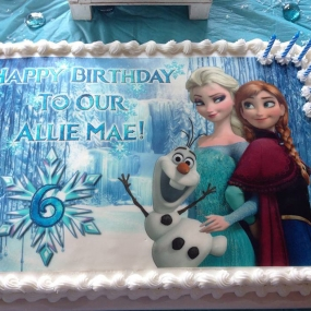 Frozen - Elsa, Anna, and Olaf