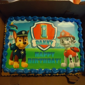 Paw Patrol - Chase and Marshall