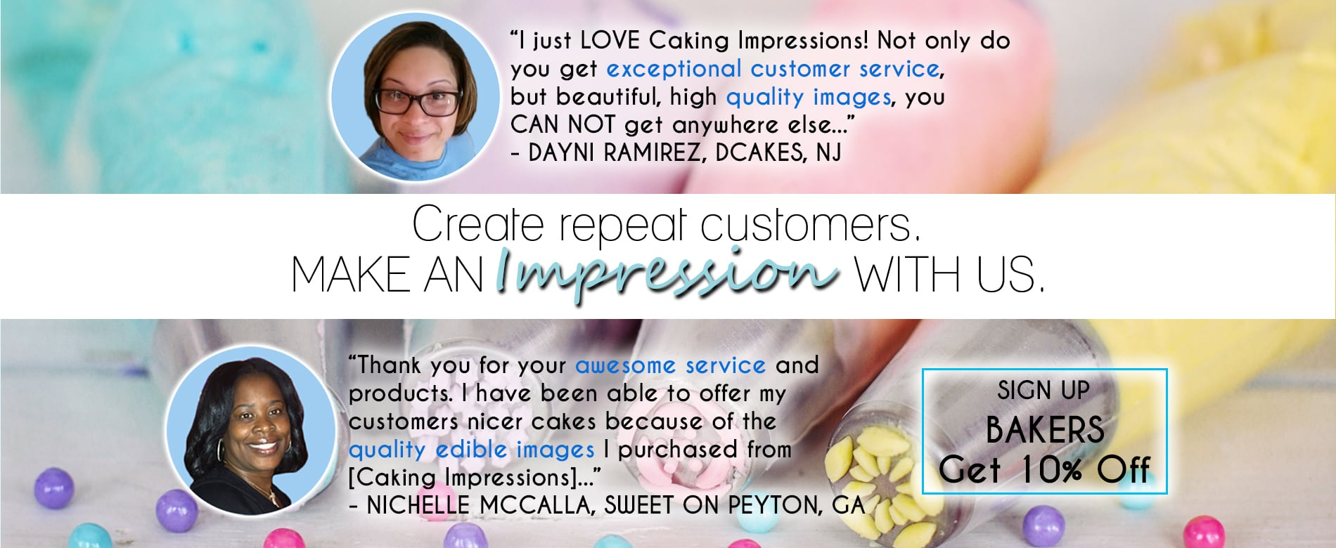 Reviews On Caking Impression